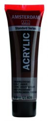 Amsterdam Standard Series Art Acrylic Paint Small Size tube 20 ml - Burnt Umber